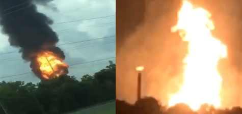 Диверсанты сжигают американскую землю