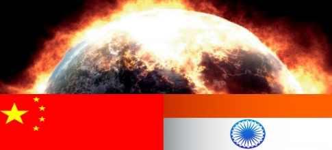 Китай и  Индия сожгут планету, если им не дадут денег