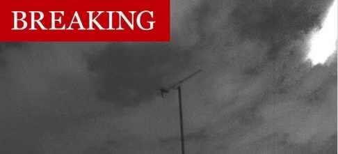 На Лондон упал большой метеорит