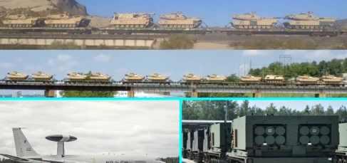 Пентагон отправляет еще больше танков в Европу