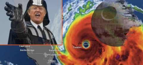 Трамп остановил ураган «Дориант»