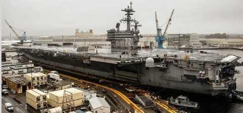 5 самоубийств на авианосце USS George H. W. Bush, а может это убийства