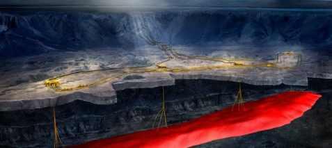 Под Окинавой найден  газовый резервуар и его ждет взрыв