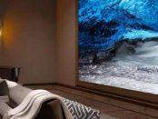 гигантский 63-футовый телевизор Sony с самым большим в мире экраном 16K