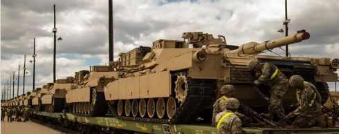 CША закинули в Литву танки и бронетехнику