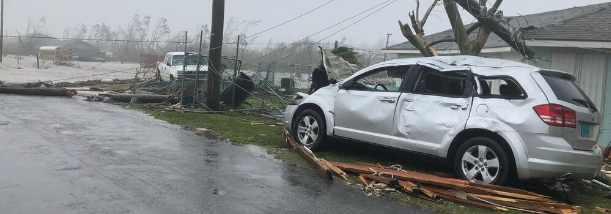 Ураган «Дориан» привел к катастрофе