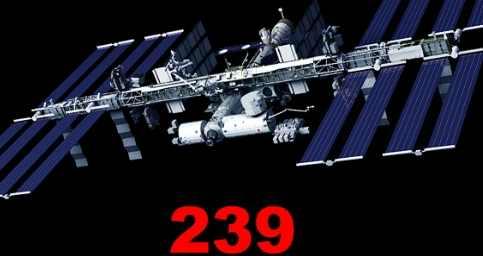 Код 239 начали передавать с орбиты