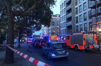 В Берлине авто налетело на толпу