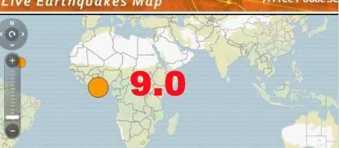 Африку очень жестко тряхуло