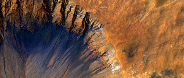Обнаружилась загадочная пульсация на Марсе