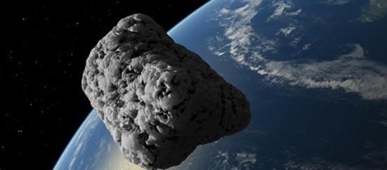Опасность приближающего гигантского астероида