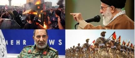 Иран отправляет 7 500 полицейских на подавление протестов в Ираке