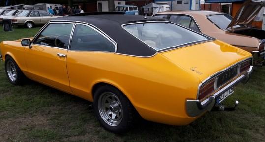 Ford Granada, 1972 год
