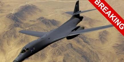 В Саудовскую Аравию прибыли  бомбардировщики B-1 Lancer
