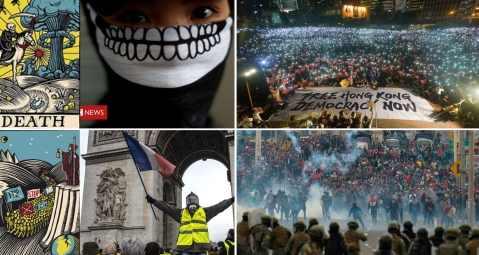 Глобалисты срочно погружают в хаос Чили и Барселону