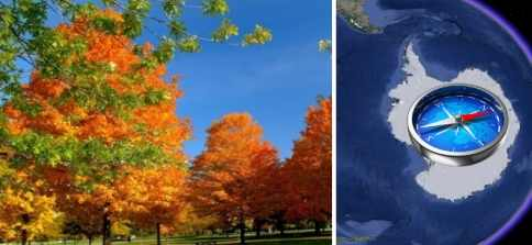 Самая теплая осень в Европе говорит о сдвиге полюсов