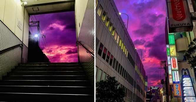 Лиловое небо Филиппины