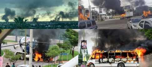 Мексика после 8 часового боя полиция сдала город накрокарателям