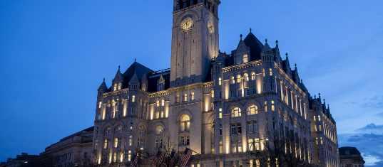Трамп торговую марку Washington Hotel