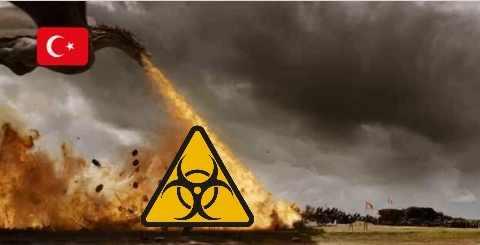 Турция применила химическое оружие