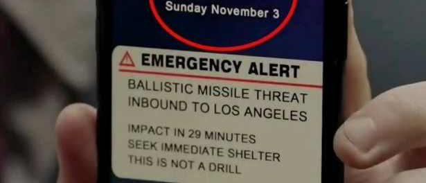3 ноября в Лос-Анджелесе ядерная тревога