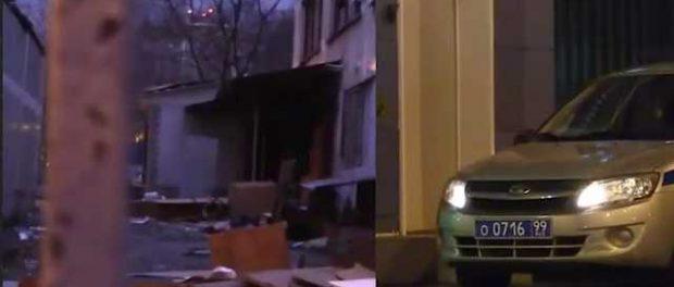 В Москве местные бомжи захватили отдел полиции