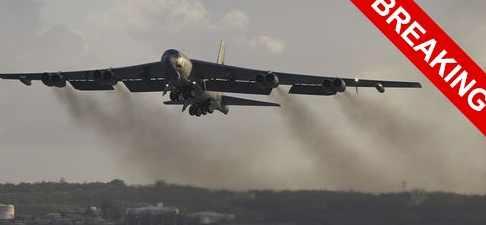 США в Европу забросили   B-52 Stratofortress