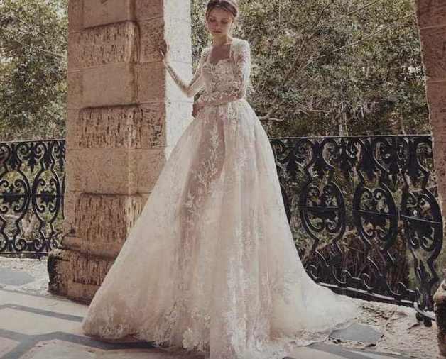 Monique Lhuillier свадебные платья