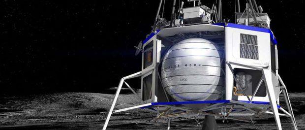 Blue Origin выбирает команду для постройки модуля на Луну