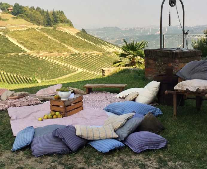 Виноградник в Асти, город Пьемонт, известный своими игристыми винами. Фото Лауры Ицковиц / TPG