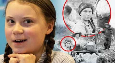 Грета Тунберг оказалась клоном