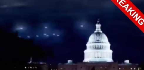 Эвакуация Белого дома из-за неопознанного объекта НЛО