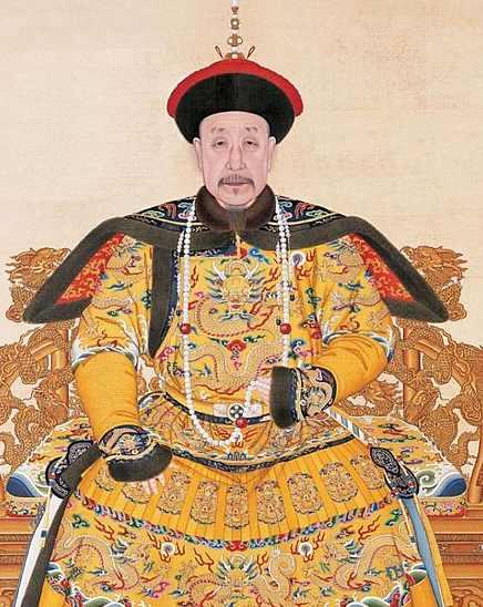 Портрет императора Цяньлун, 1791 г.