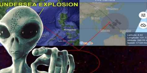 НЛО спасли Южно Китайское море от радиации