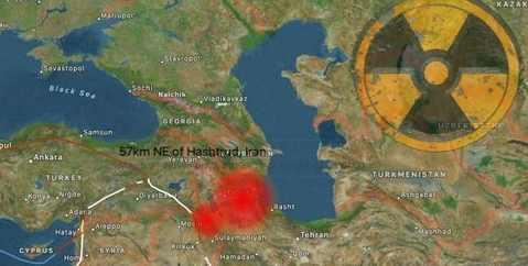 Землетрясение М5.9 в Иране попало в урановый рудник