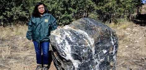 В Аризоне потерялся камень весом несколько тонн