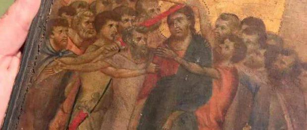 Картина Cimabue 13-го века, найденная на французской кухне, продается за $27 миллионов