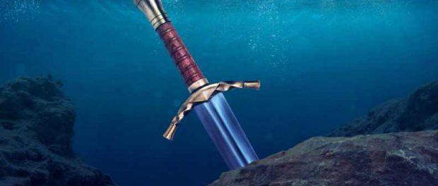 В реке найден меч короля Артура