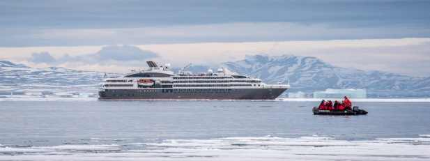 Арктика — новая точка для роскошных круизов