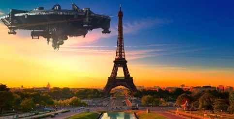 НЛО поставил на уши всю Францию