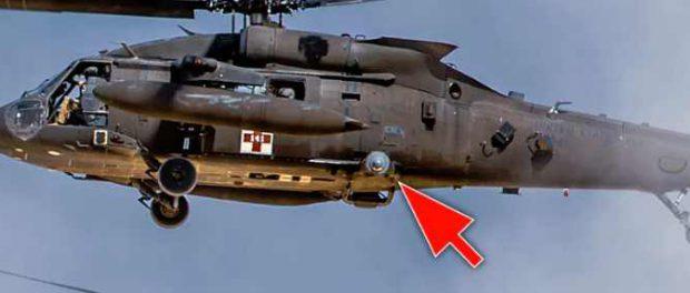 На вертолетах США в Сирии замечена установка подавления лазера