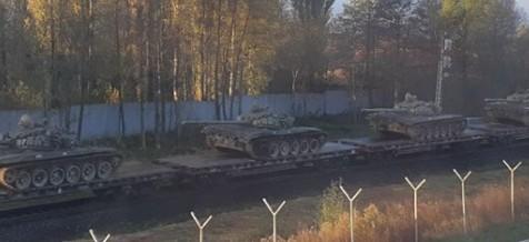 Калининградская область танки поезд