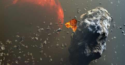 400 метеоритов упадет на Землю 21 ноября