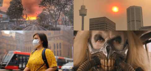 В Австралию пришел Конец Света из-за пожаров