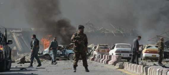 В Ираке прогремел большой взрыв