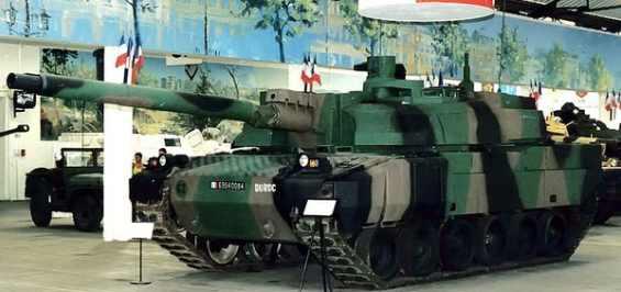 Самый дорогой танк АМХ-56 Leclerc