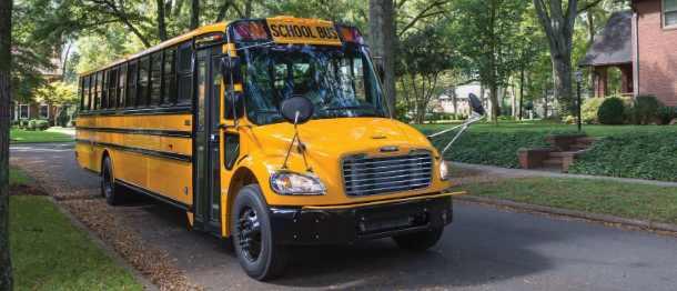 Daimler доставляет электрические школьные автобусы в Вирджинию