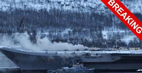 Кто поджег в Мурманске «Адмирал Кузнецов»