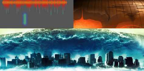 Цунами в Средиземном море от землетрясение M.9