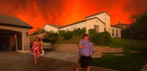 К приближению Конца Света люди покидают Калифорнию